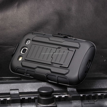 S3 Case Cover, Future Armor Holster Case for SAMSUNG GALAXY S3 i9300 Mobile Phone Case