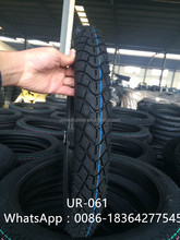 Hot selling 3.00-18 3.00-17 6PR motorcycle tubeless tire