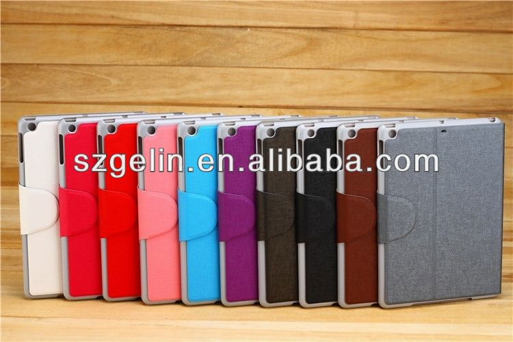 high quality pu leather case for ipad air