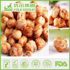 Party Snack Coffee Flavored Fried Popcorn With Good Taste