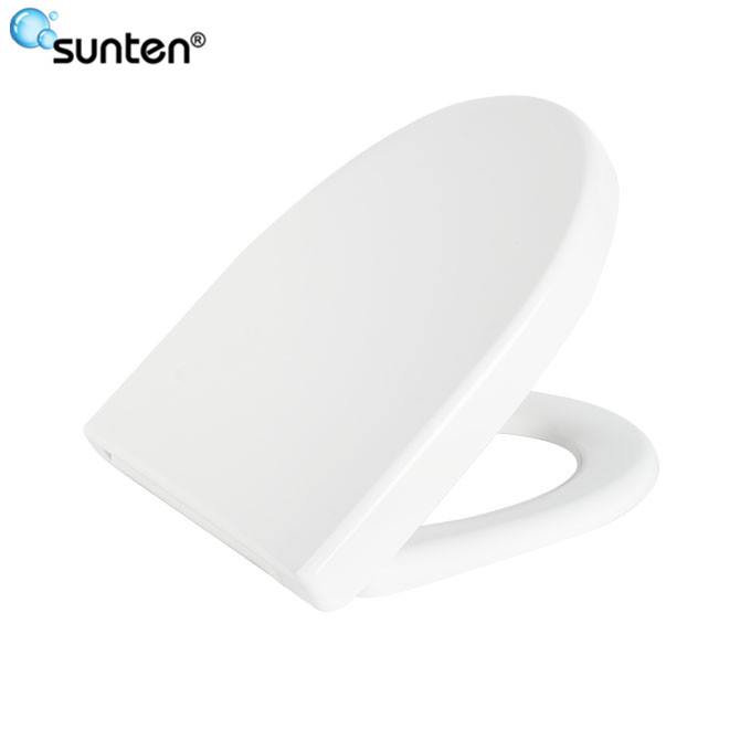 2017 Xiamen Wall Hanging Duroplast Special Toilet Seat With Round Shape
