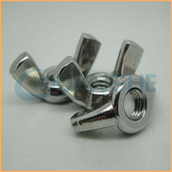 Cheap wholesale fasteners plated m23 wing nut