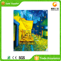 Factory Supply 5D Diamond Embroidery Copy Of Large Painting Of Famous Artist