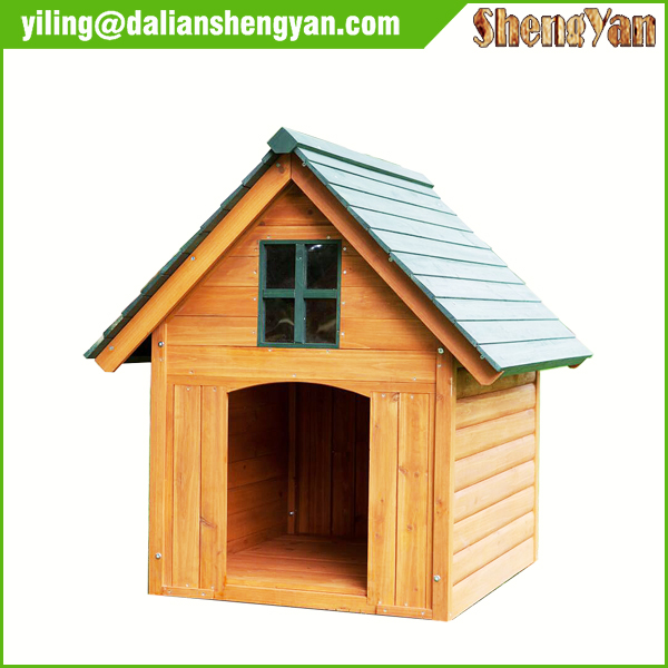Painting handmade comfortable wood dog house