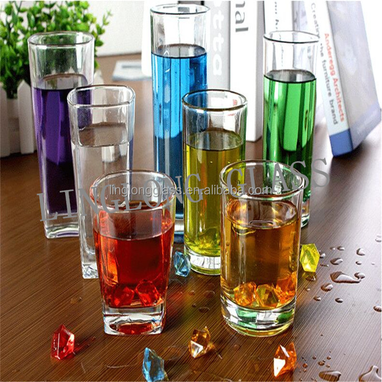 Lead free glass cup wine/beer/Fruit juice/water/Liquor glass cup