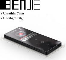 Ultrathin 1.8 TFT touch screen full metal mp4 video player just 38g on YouTube