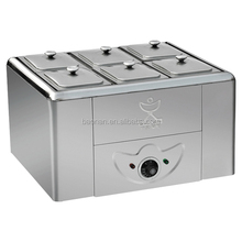 Kitchen equipment stainless steel food warmer 6pan soup bain marie BN-K02