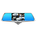 "5""inch touch screen 360 degree camera  hd dual lens driving recorder with dual camera record  hd car dvr android dvr camera"