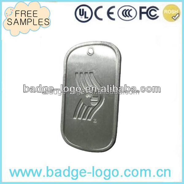 Identification High Quality Stainless Steel Engraved Dog Tags