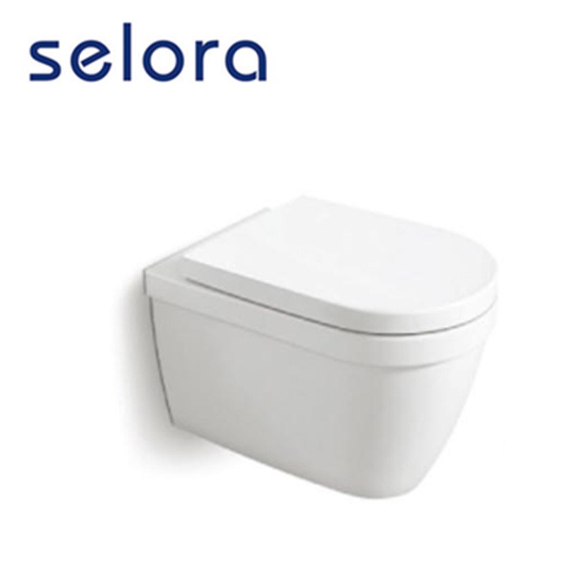 popular new style porcelain wall hung water closet sanitary wares bathroom for homes
