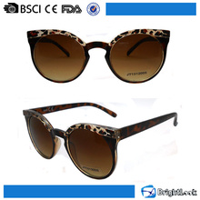 Newest fancy fashion designer promotional sun glasses high quality for women