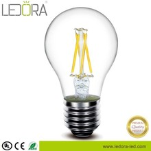 Hot All glass no plastic 2200K dimmable e27 light bulb shape lamp 3.5w