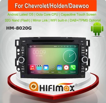 HIFIMAX Android 7.1 Touch Screen Car DVD For Honda/Chevrolet Captiva 2008 (2006-2011) GPS Navigation System Rear View Camera