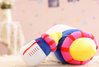 baby soft toy&super lovely nipple baby plush toy plush squeaky feeding-bottle toy for kids
