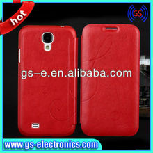 china manufacturer offer protable leather case for Samsung Galaxy S4 + variety colors
