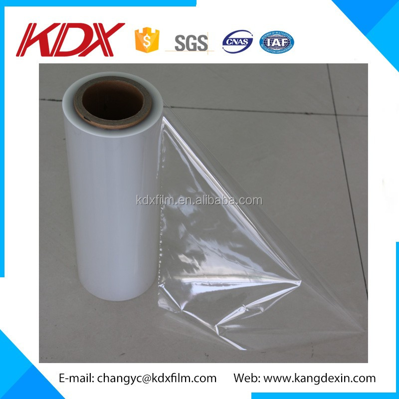 Professional Factory Supply Transparent BOPP Jumbo Roll Type Gloss Wet Base OPP Plastic Film
