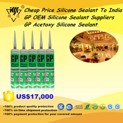 Cheap Price Silicone Sealant To India GP OEM Silicone Sealant Suppliers GP Acetoxy Silicone Sealant