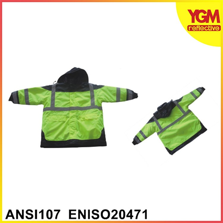 Cheap price screen printed High Quality Reflective Jacket Vest