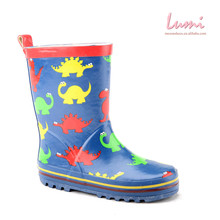 Made in China Cheap Kids Blue Rain Boot Boys Waterproof Boot