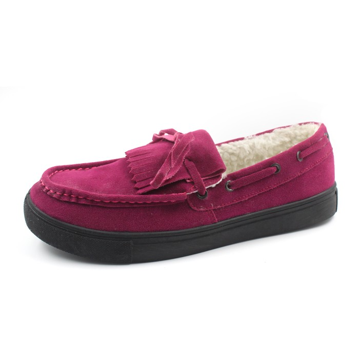 2016 Magic show-IW4343 women moccasins with plush