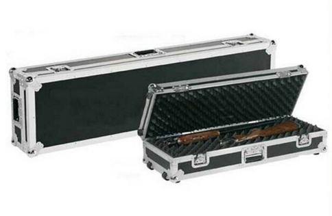 Aluminum Gun Guard Double Scoped Rifle Case/ Professional Military Gun box