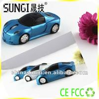 Cool 2.4G Wireless Racing Car Mouse With Fashionable Design