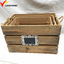 cheap used wooden packing firewood crate wholesale