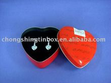 Romantic Heart Shape Gift Tin Box