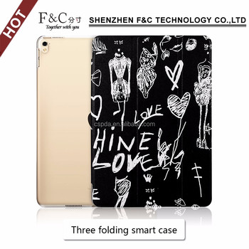 For New iPad Pro 10.5 2017 case leather flip stand cover for iPad PRO