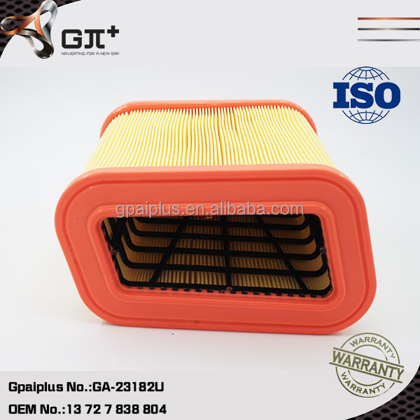 Good Price Gpaiplus Manufacturer Applicable for BMW OEM 13 72 7 838 804 Air Filter