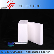 High density White XPS Foam board for Label cutting,for Cornice cutting