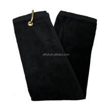 Microfiber Promotional golf towel with clip eco friendly products bulk buy from china