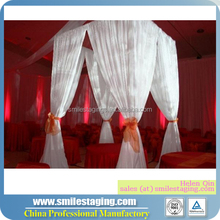 Portable used pipe and drape kits for party tent
