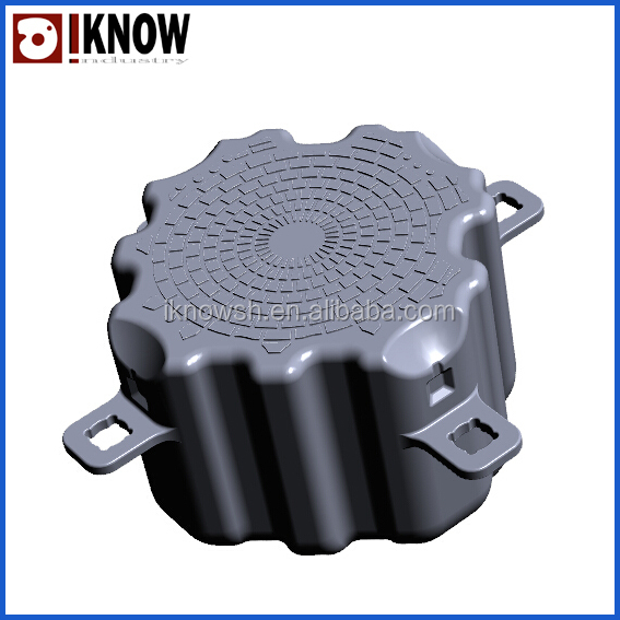 blow mould for floating dock