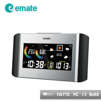 Negative LED display weather forecast professional weather station