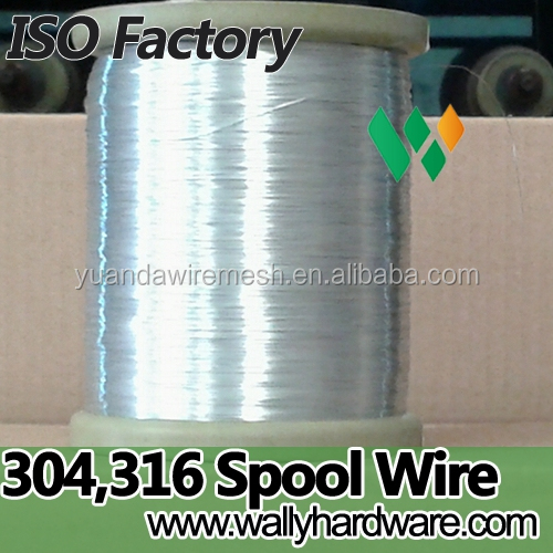 0.2mm 4kg spool ss304 316 DIN 160 120 180 200 stainless steel wire best selling