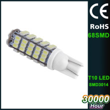 68SMD 12volt SMD 3014 auto light led white brake car light