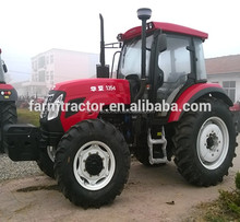 hydraylic 4 wheels drive tractor 135HP in sale made in China with cabin ROPS