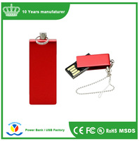 Free Sample Metal Swivel OEM USB Flash Pendrive 8gb USB 2.0/ Flash Drive USB Pendrive Paypal Accept