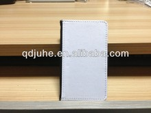 high quality Leather phone case for Samsung GALAXY S2(I9100) cover, with white blank sublimation printable area