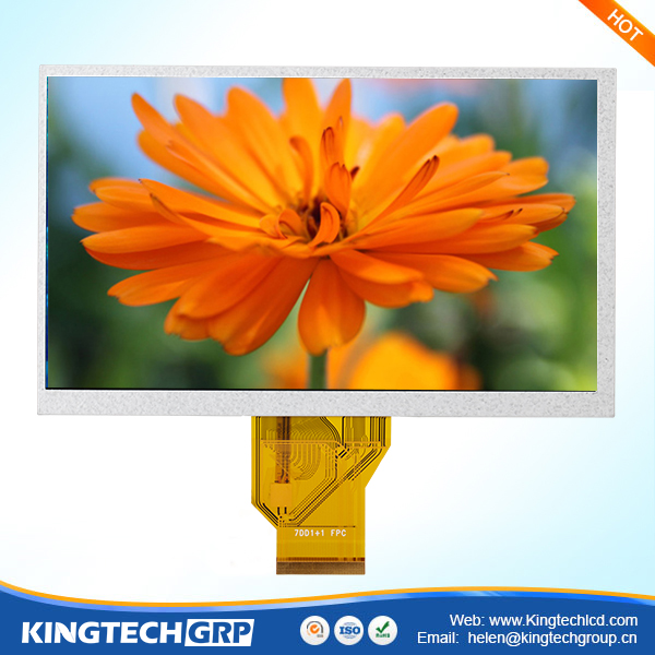 digital information display panel wqvga tft touch screen with interface hd cellscreen lcd rgb
