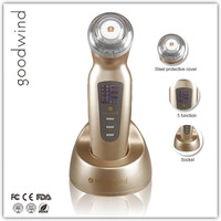China Supply Homeuse Portable Ultrasonic Ion Photon Beauty Machine customized ultrasonic 1mhz and 3mhz