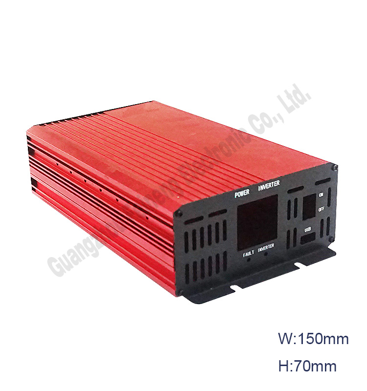 extruded aluminum inverter housing led power supply enclosure junction box