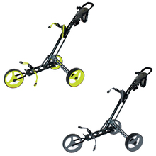 Lightest golf aluminium golf push trolley for new season