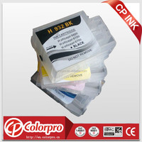 Compatible for hp 6700 printer for hp932/ hp933 refill ink cartridge with auto reset chip