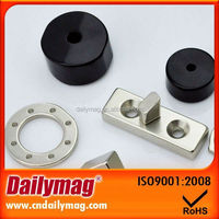 Flat Industrial Ferrite Magnets