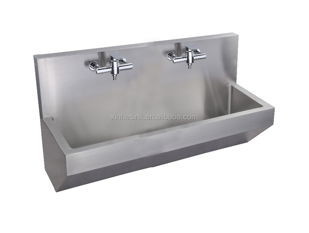 ... Sink,Stainless Steel Wall Hung Wall Mounted Scrub Sink Scrub Trough