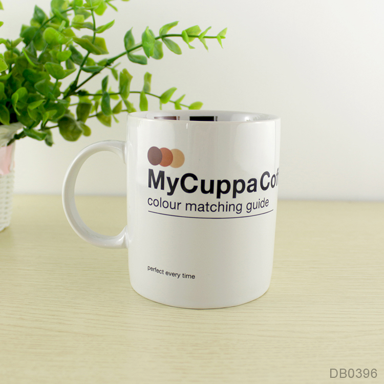 Factory direct bulk sublimation coffee mug, ceramic cup with logo