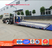 Dongfeng DLK towing truck wrecker, full landing wrecker truck for sale