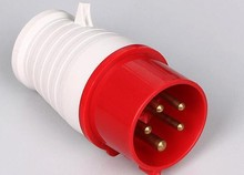 ip44 16a 32a 3p 4p 5p Waterproof industrial power switch Plugs socket